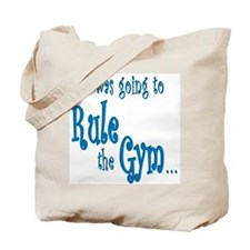Rule the Gym Gymnstics Tote Bag