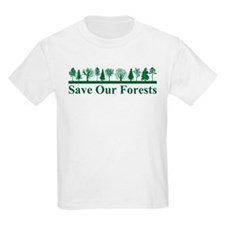 Save Our Forests Kids T-Shirt
