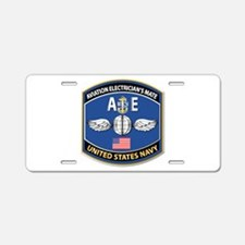Aviation Electrician's Mate Aluminum License Plate