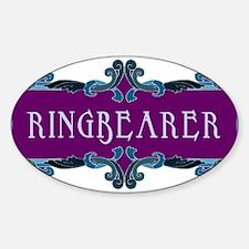 Ringbearer Oval Decal