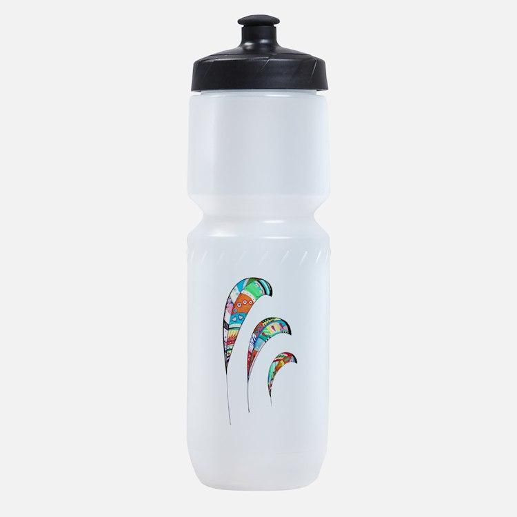 Cute Zentangle Sports Bottle