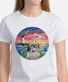 Lighthouse-Seagull-Shih (P) Tee