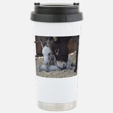 Eeyore and Angel Stainless Steel Travel Mug
