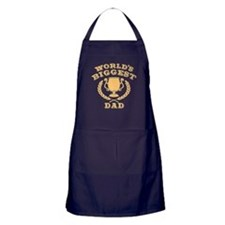World's Biggest Dad Apron (dark)