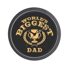 World's Biggest Dad Wall Clock