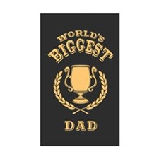 World's Biggest Dad Decal