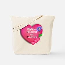 CNA Hearts Tote Bag