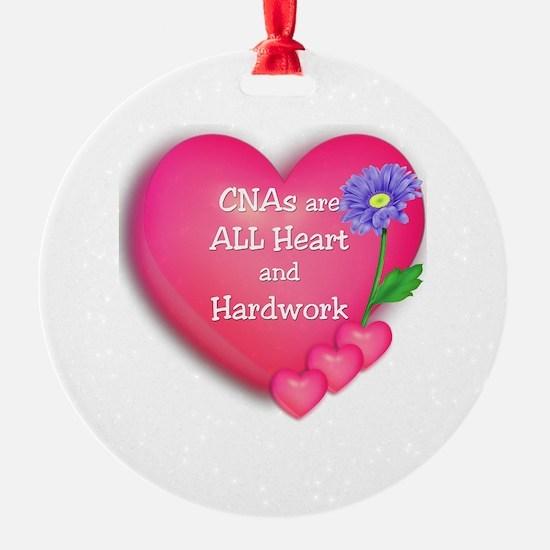 CNA Hearts Ornament