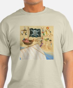 Pirates on the Beach T-Shirt