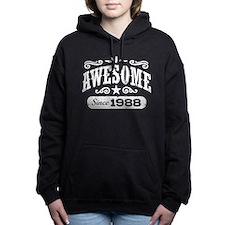 Awesome Since 1988 Women's Hooded Sweatshirt