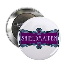 Shieldmaiden Button