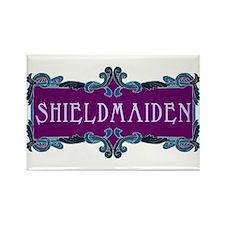 Shieldmaiden Rectangle Magnet
