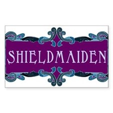 Shieldmaiden Rectangle Decal