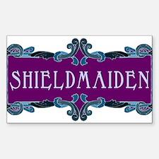Shieldmaiden Rectangle Decal