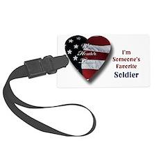 Favorite Soldier Luggage Tag