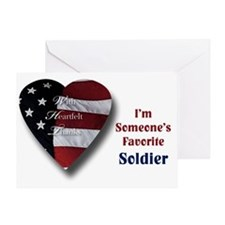 Favorite Soldier Greeting Card