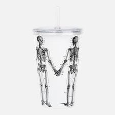 Skeletons Acrylic Double-wall Tumbler