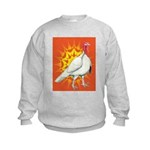 Sunburst White Turkey Kids Sweatshirt