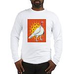 Sunburst White Turkey Long Sleeve T-Shirt