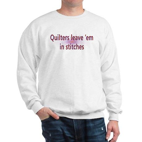 In Stitches Sweatshirt