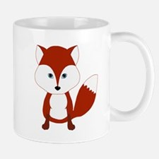 Cute Red Fox Mugs