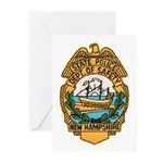 New Hampshire State Police Greeting Cards (Package