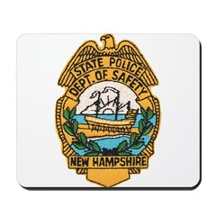 New Hampshire State Police Mousepad