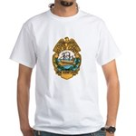 New Hampshire State Police White T-Shirt