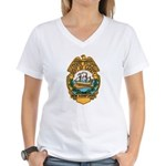 New Hampshire State Police Women's V-Neck T-Shirt