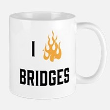 I Burn Bridges Mugs
