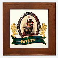 Forbes Clan Framed Tile