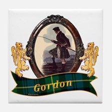 Gordon Clan Tile Coaster