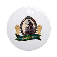 Gordon Clan Round Ornament