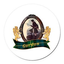 Gordon Clan Round Car Magnet