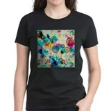 Abstract Women's Dark T-Shirt