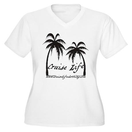 Cruise Life Logo Plus Size T-Shirt