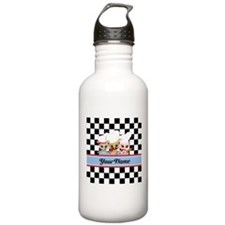 Personalized Chef Owls Water Bottle