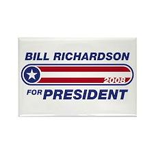 Bill Richardson for President Rectangle Magnet