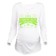 Breckenridge Vintage Long Sleeve Maternity T-Shirt