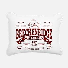 Breckenridge Vintage Rectangular Canvas Pillow