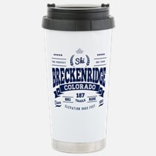 Breckenridge Vintage Stainless Steel Travel Mug