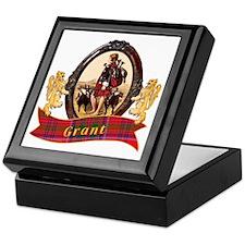 Grant Clan Keepsake Box