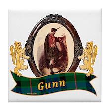 Gunn Clan  Tile Coaster