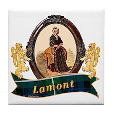 Lamont Clan Tile Coaster