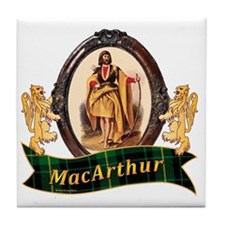 MacArthur Clan Tile Coaster