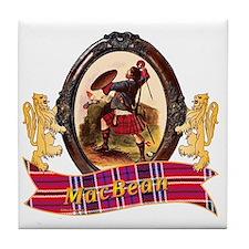 MacBean Clan Tile Coaster