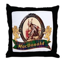 MacDonald Clan Throw Pillow