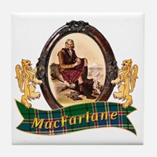 MacFarlane Clan Tile Coaster