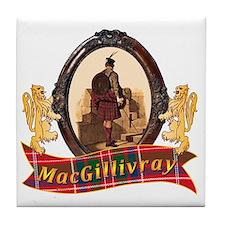 MacGillivray Clan Tile Coaster