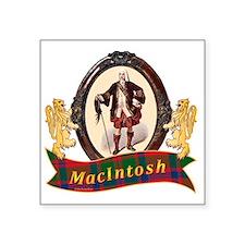 "MacIntosh Clan Square Sticker 3"" x 3"""